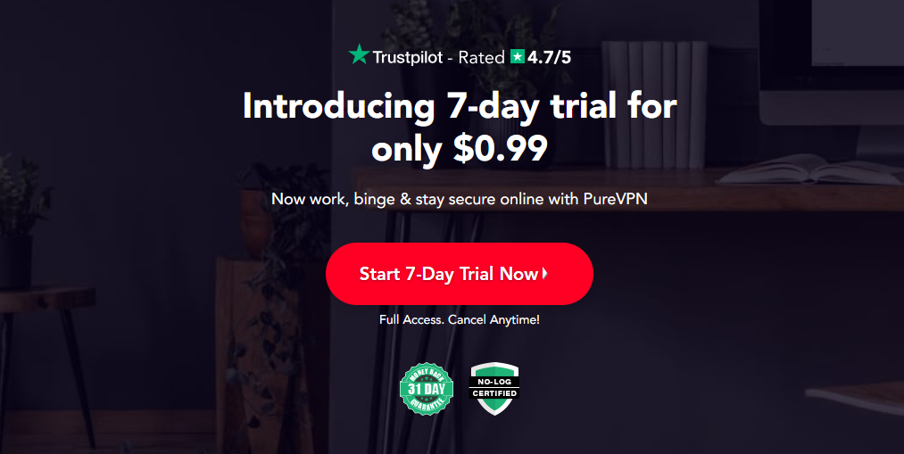 Introducing 7-day trial for only $0.99